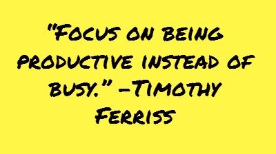 32 Productivity Tips